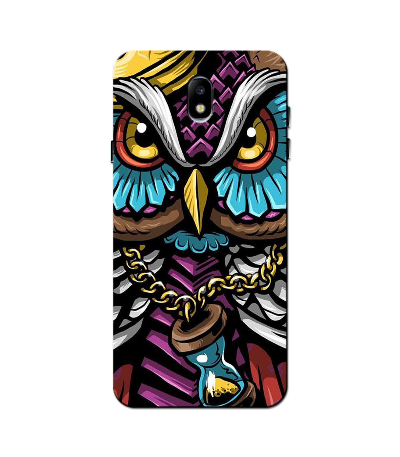 Owl Mobile Back Case for Galaxy J5 Pro  (Design - 359)