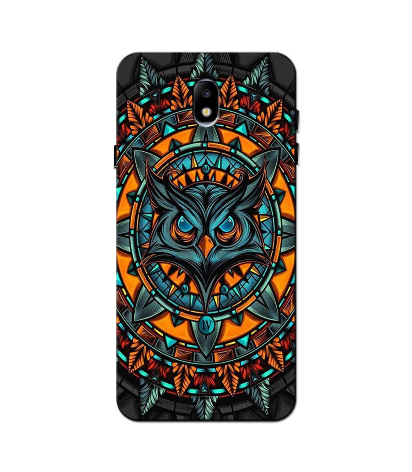 Owl Mobile Back Case for Galaxy J5 Pro  (Design - 360)