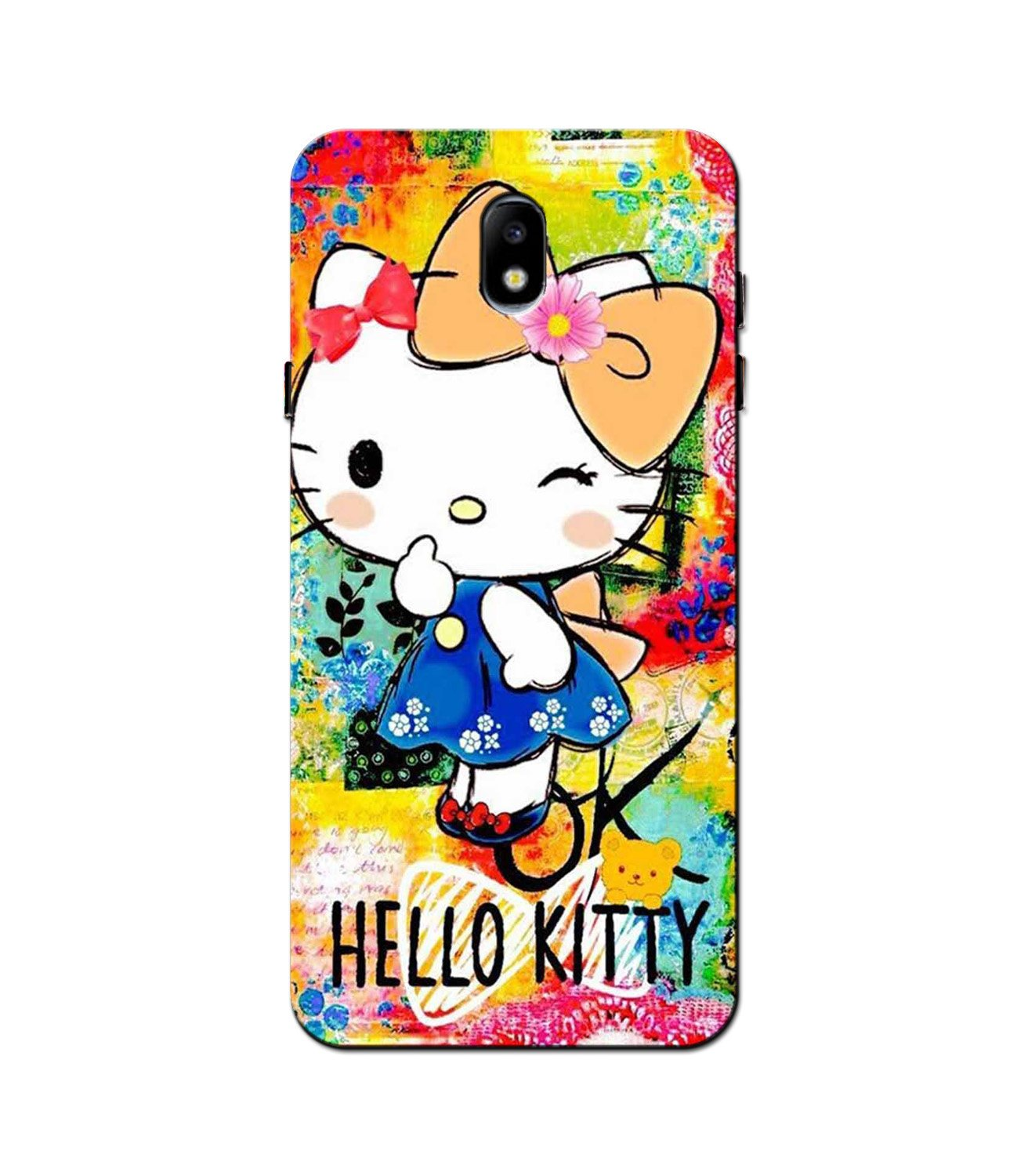 Hello Kitty Mobile Back Case for Galaxy J3 Pro  (Design - 362)