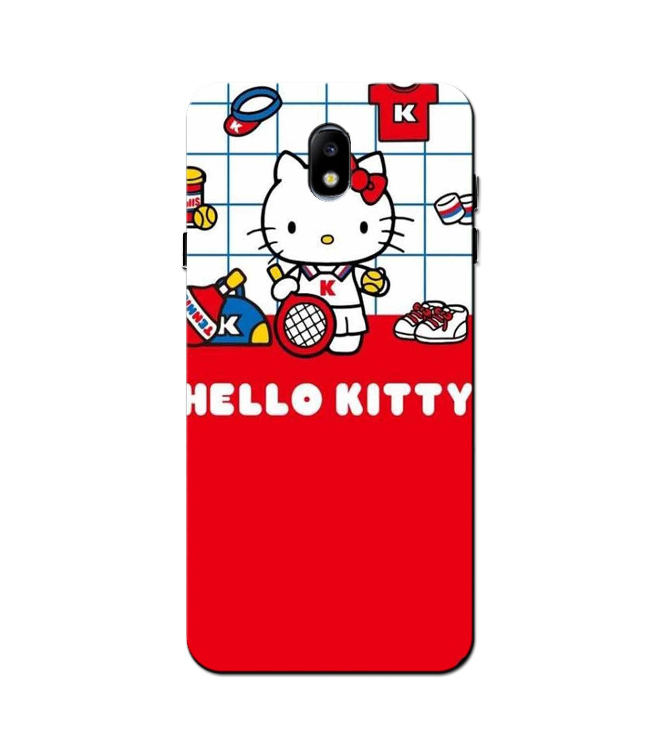 Hello Kitty Mobile Back Case for Galaxy J3 Pro  (Design - 363)