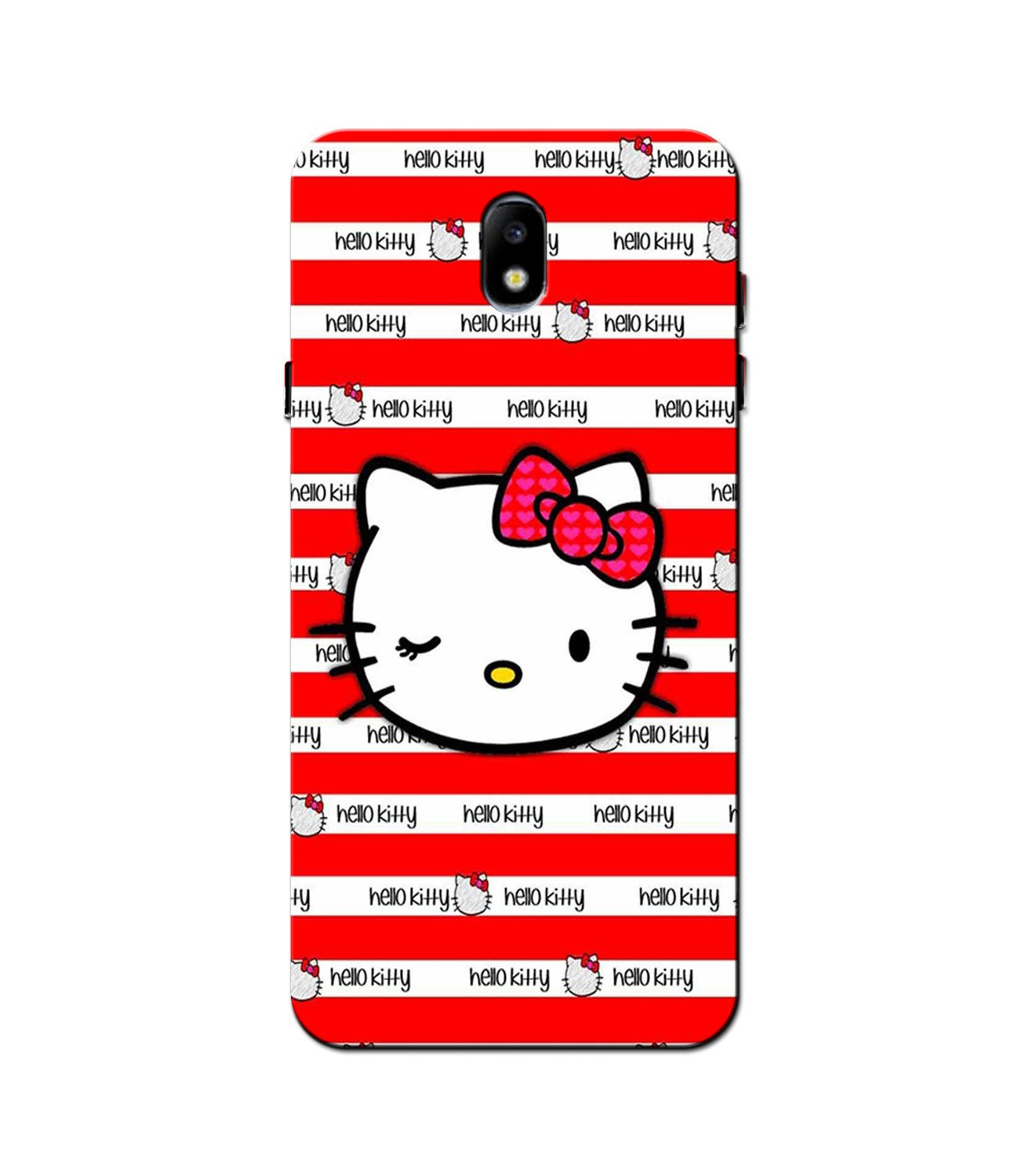 Hello Kitty Mobile Back Case for Galaxy J3 Pro  (Design - 364)