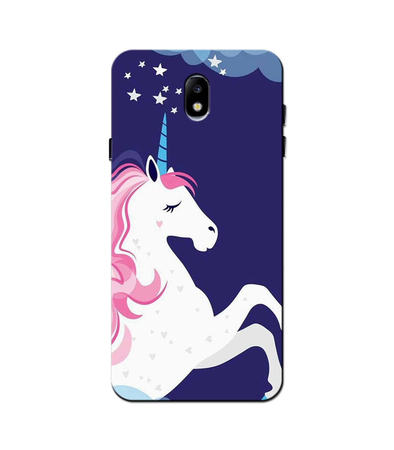Unicorn Mobile Back Case for Galaxy J5 Pro  (Design - 365)