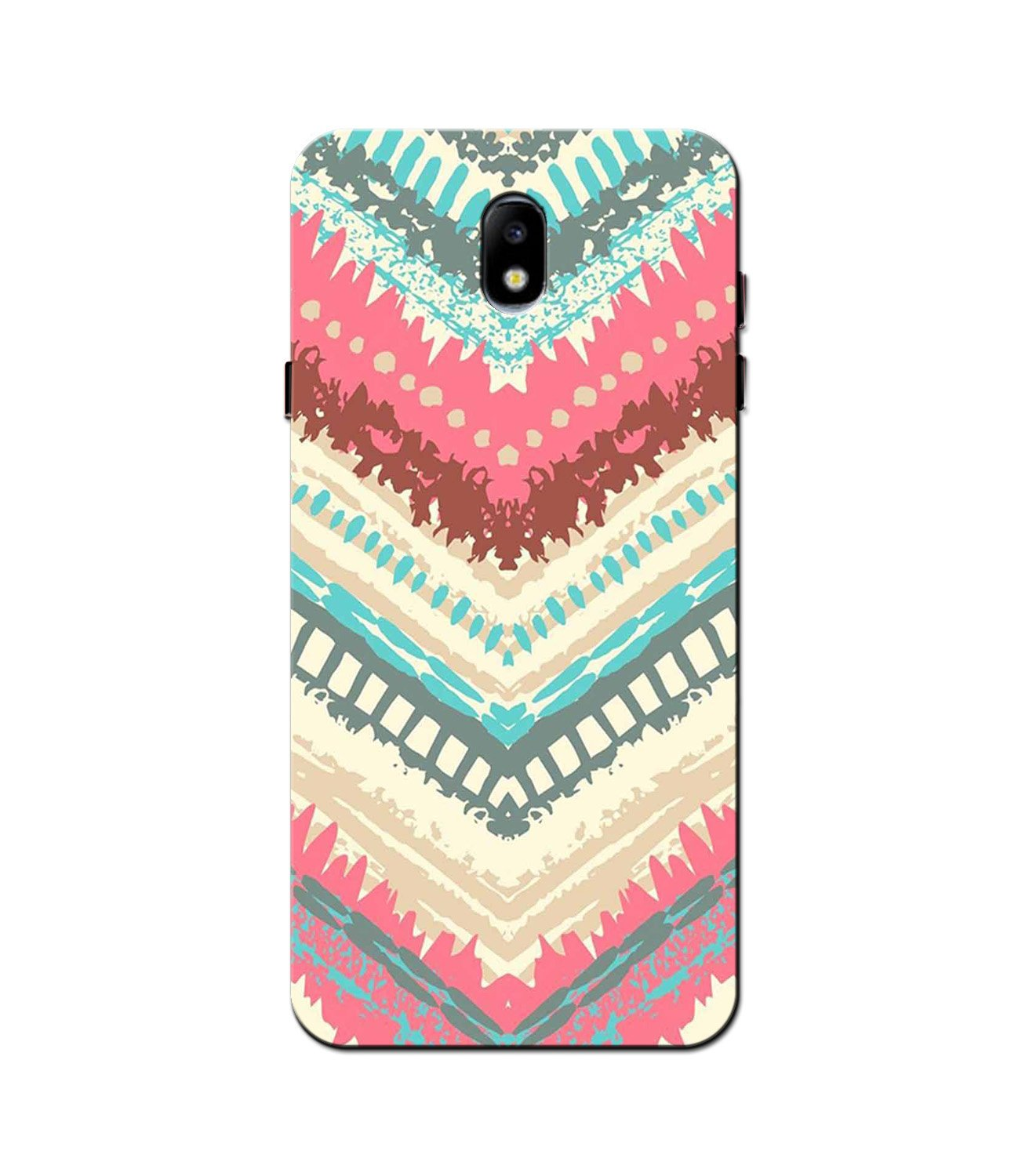 Pattern Mobile Back Case for Galaxy J5 Pro  (Design - 368)