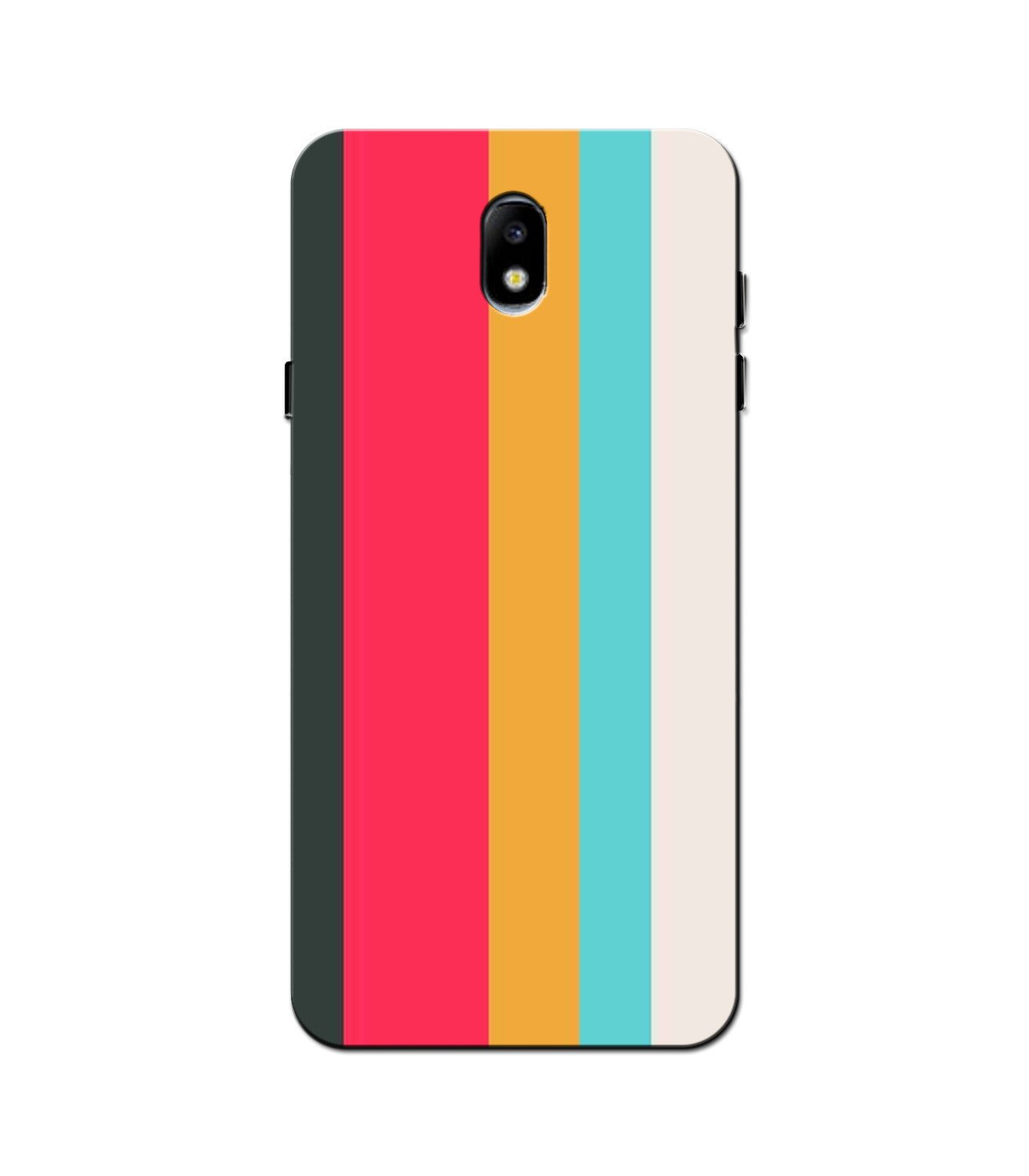 Color Pattern Mobile Back Case for Galaxy J5 Pro  (Design - 369)