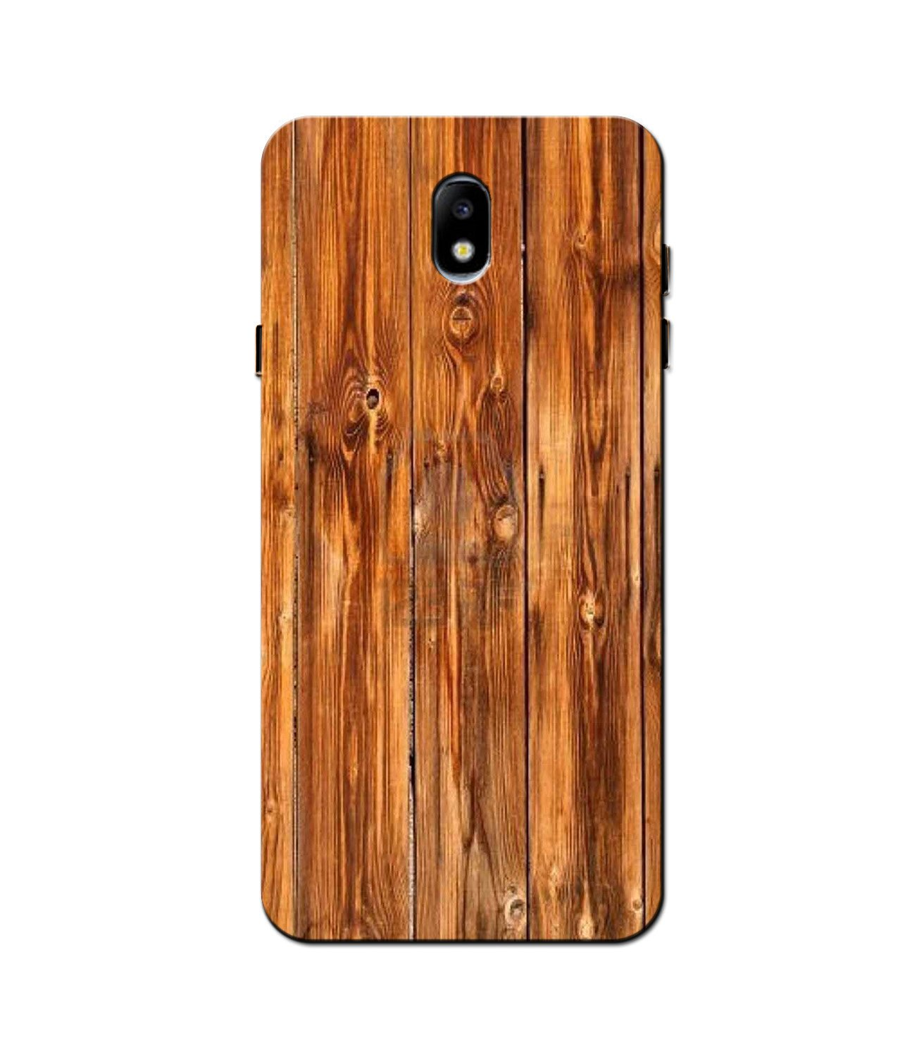Wooden Texture Mobile Back Case for Galaxy J3 Pro  (Design - 376)