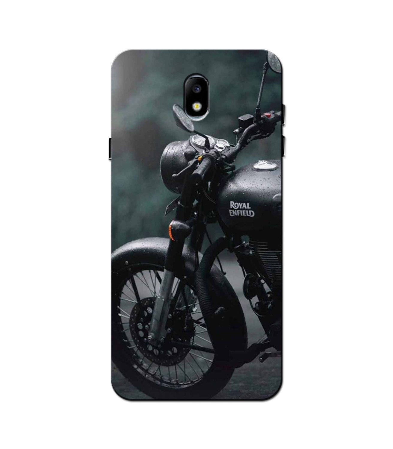 Royal Enfield Mobile Back Case for Galaxy J3 Pro  (Design - 380)
