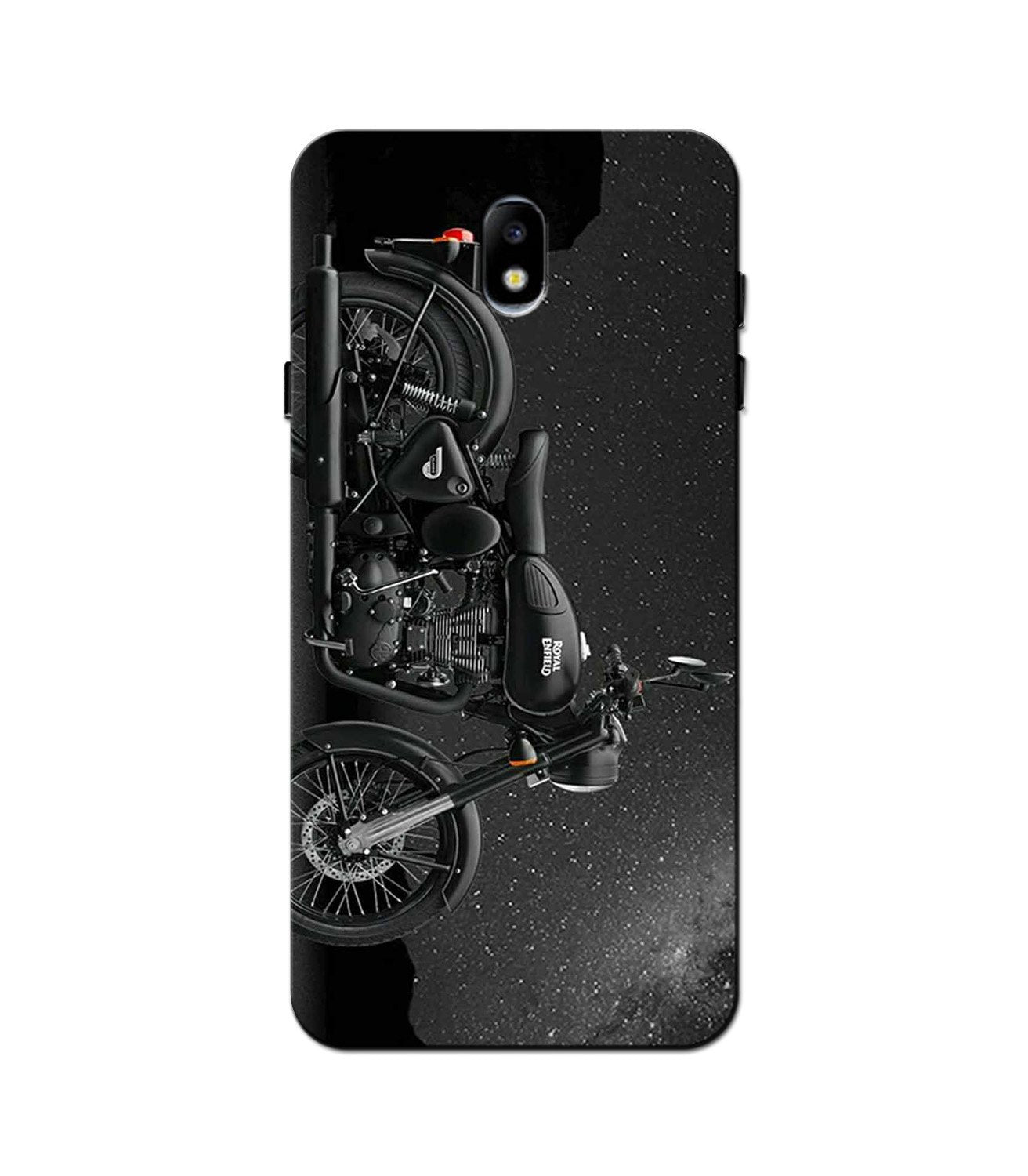 Royal Enfield Mobile Back Case for Galaxy J3 Pro  (Design - 381)