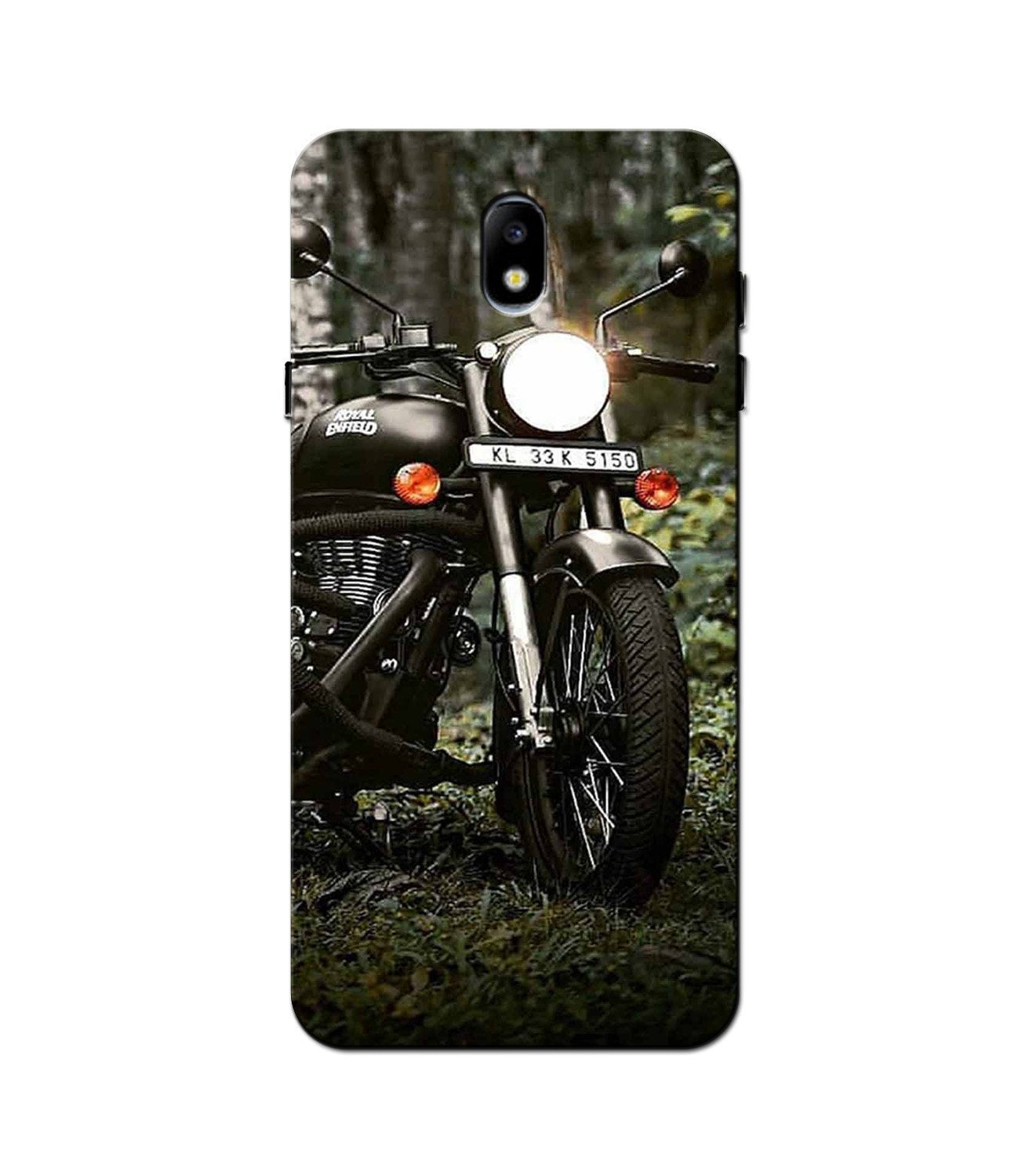 Royal Enfield Mobile Back Case for Galaxy J3 Pro  (Design - 384)