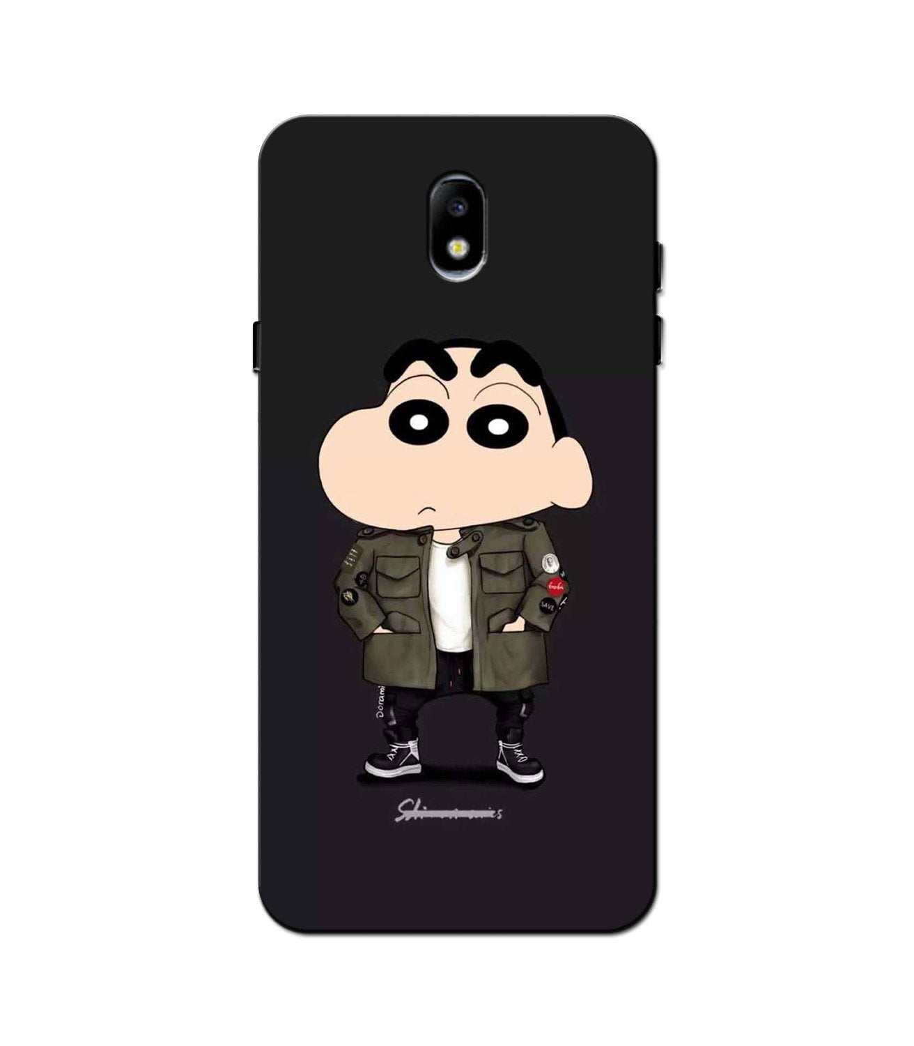 Shin Chan Mobile Back Case for Galaxy J3 Pro  (Design - 391)