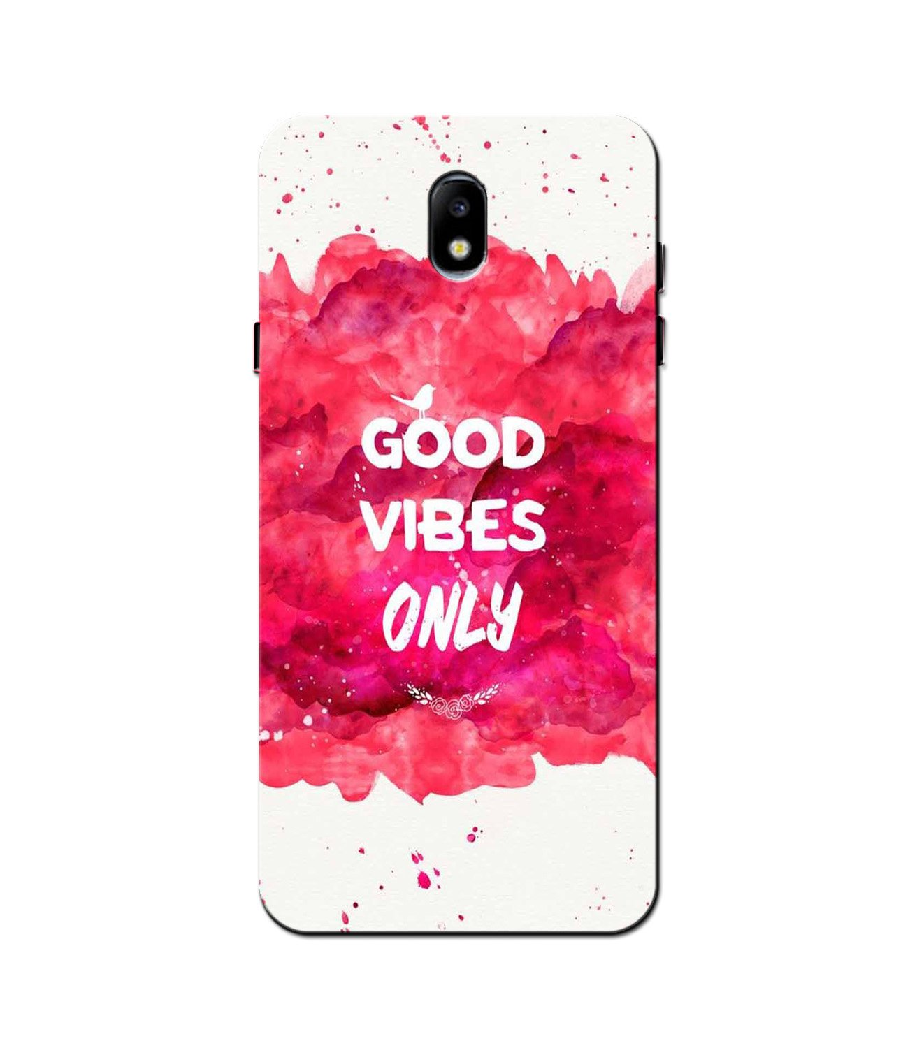 Good Vibes Only Mobile Back Case for Galaxy J3 Pro  (Design - 393)