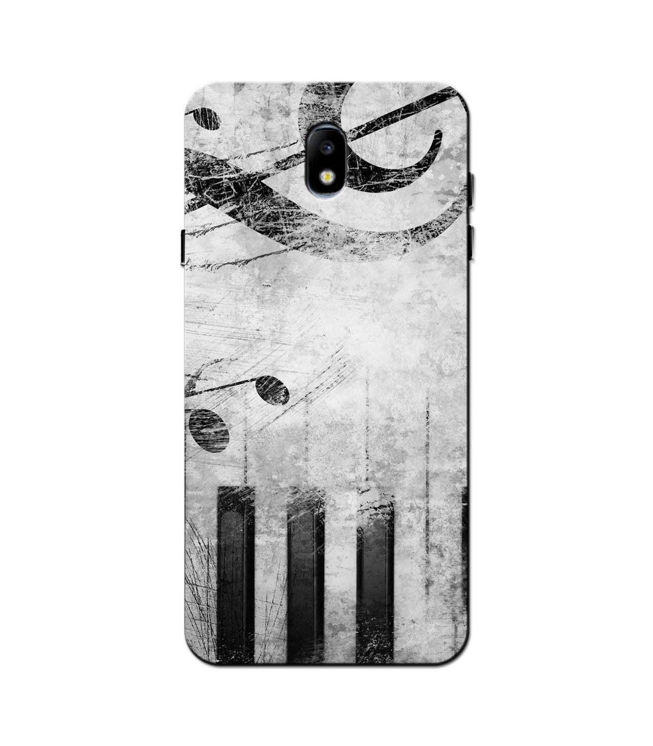 Music Mobile Back Case for Galaxy J3 Pro  (Design - 394)