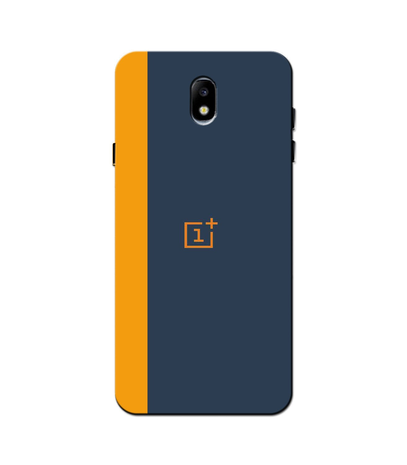 Oneplus Logo Mobile Back Case for Galaxy J3 Pro  (Design - 395)