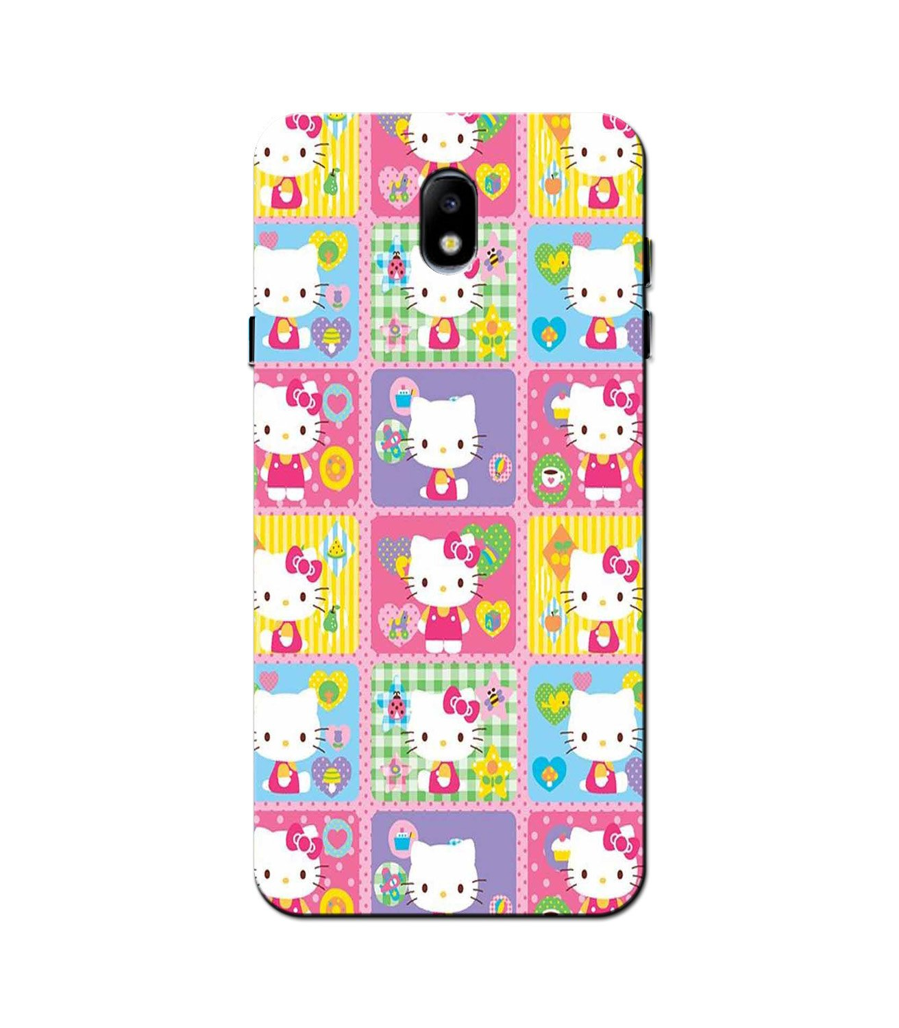 Kitty Mobile Back Case for Galaxy J5 Pro  (Design - 400)