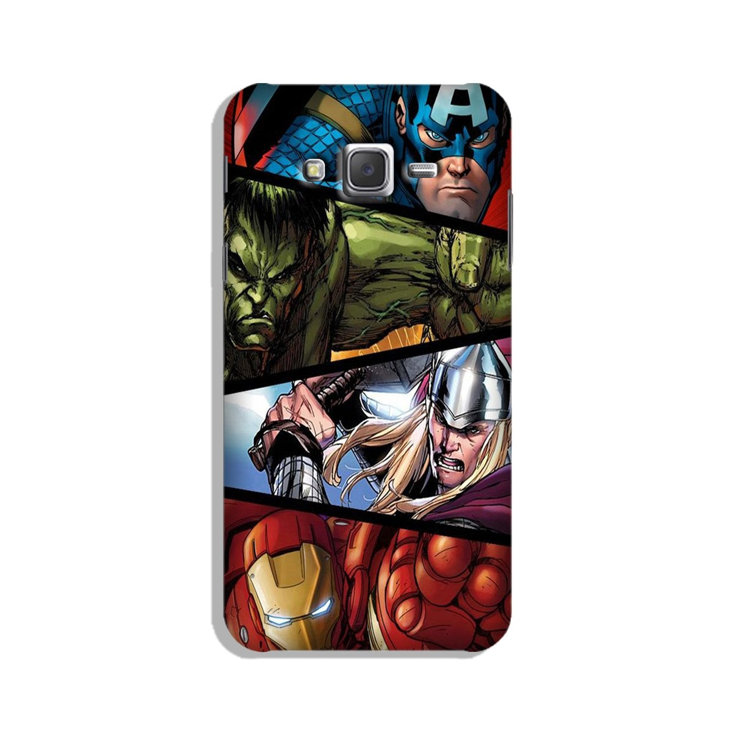 Avengers Superhero Case for Galaxy On7/ On7 Pro  (Design - 124)