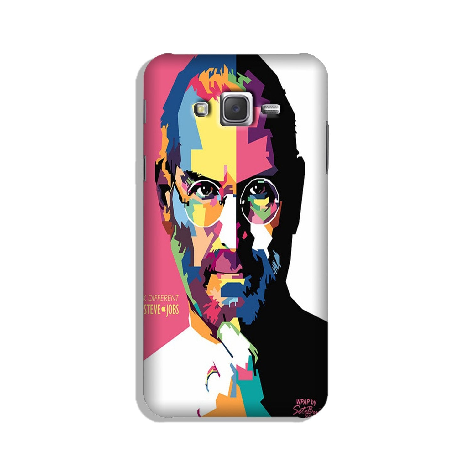 Steve Jobs Case for Galaxy On7/ On7 Pro  (Design - 132)