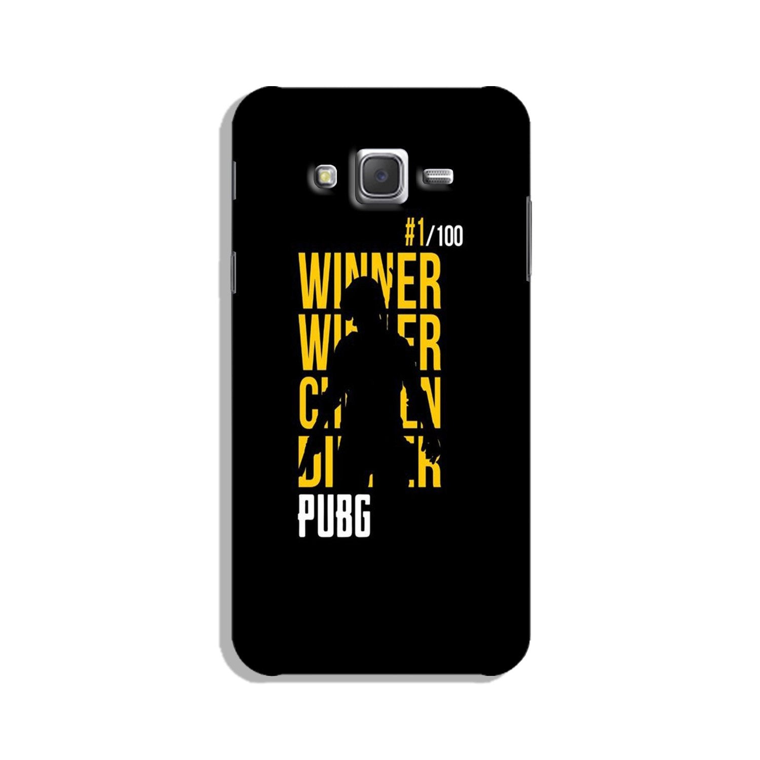 Pubg Winner Winner Case for Galaxy E5  (Design - 177)