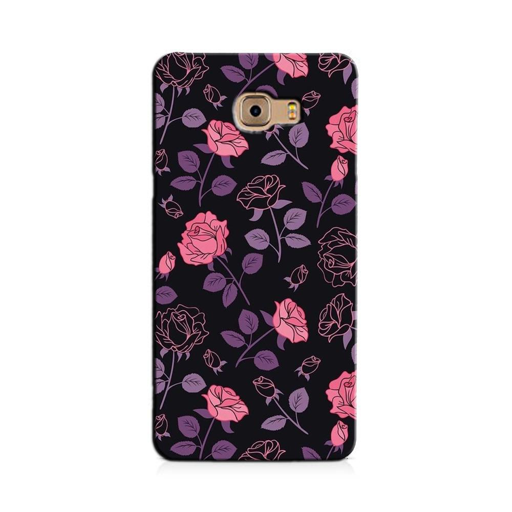 Rose Pattern Case for Galaxy J7 Prime