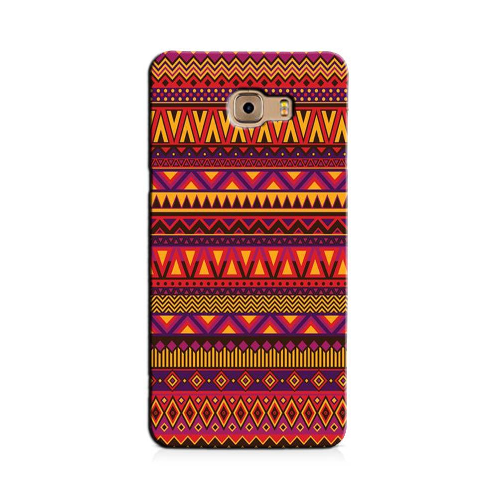 Zigzag line pattern2 Case for Galaxy C7/ C7 Pro