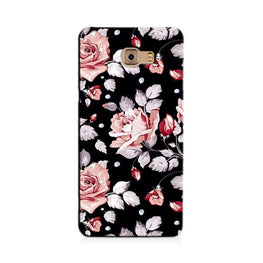 Pink rose Case for Galaxy C7/ C7 Pro