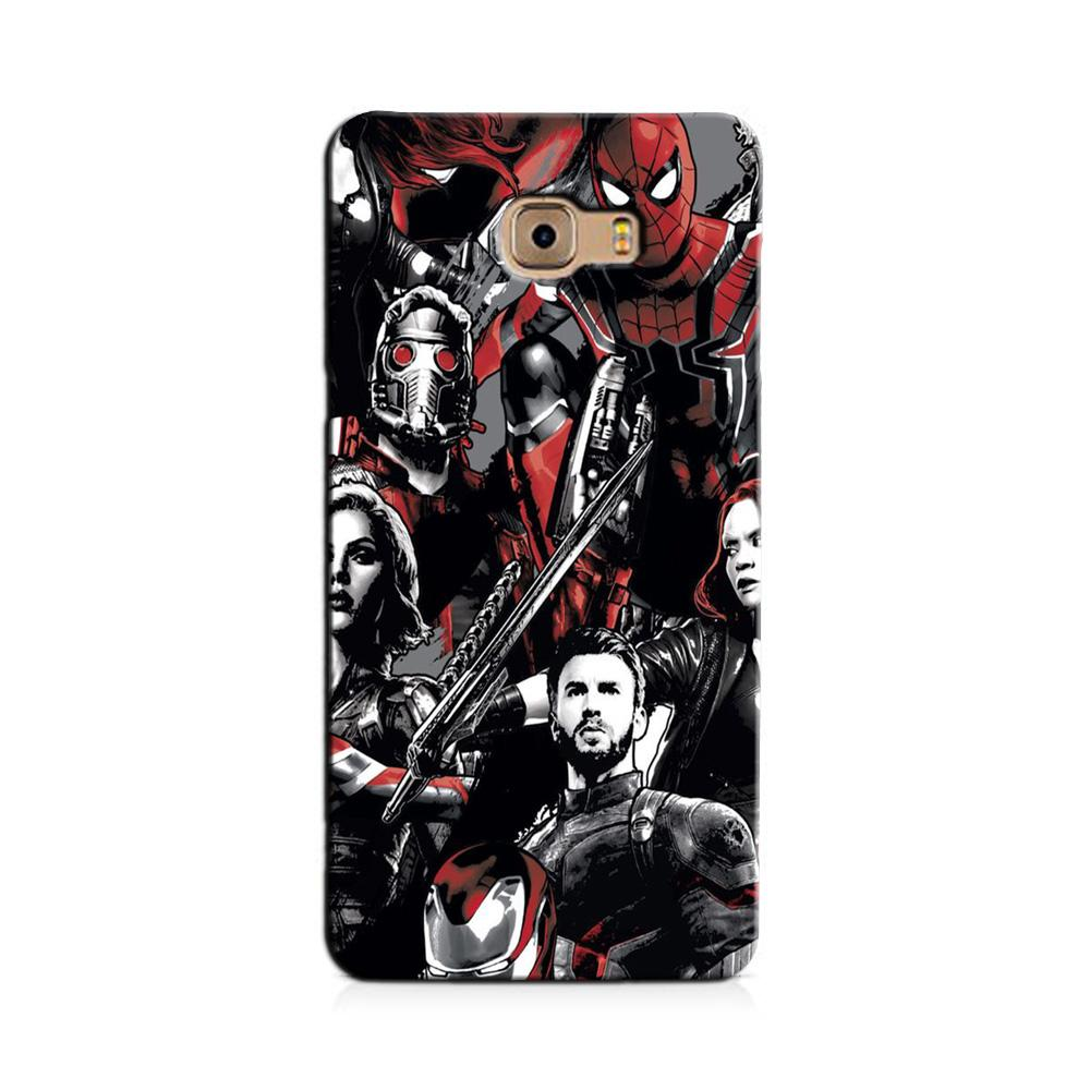 Avengers Case for Galaxy J7 Prime (Design - 190)