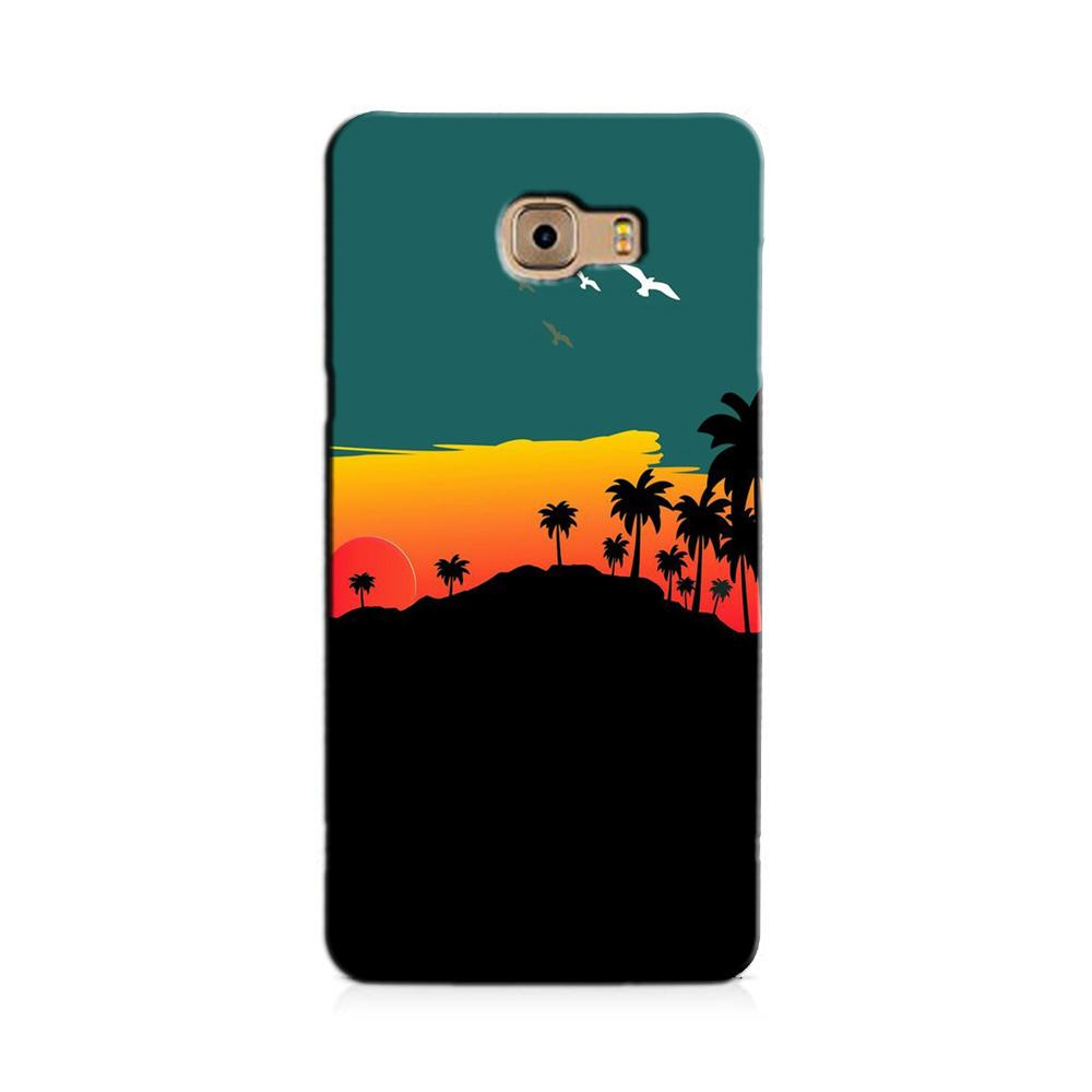 Sky Trees Case for Galaxy J7 Prime (Design - 191)