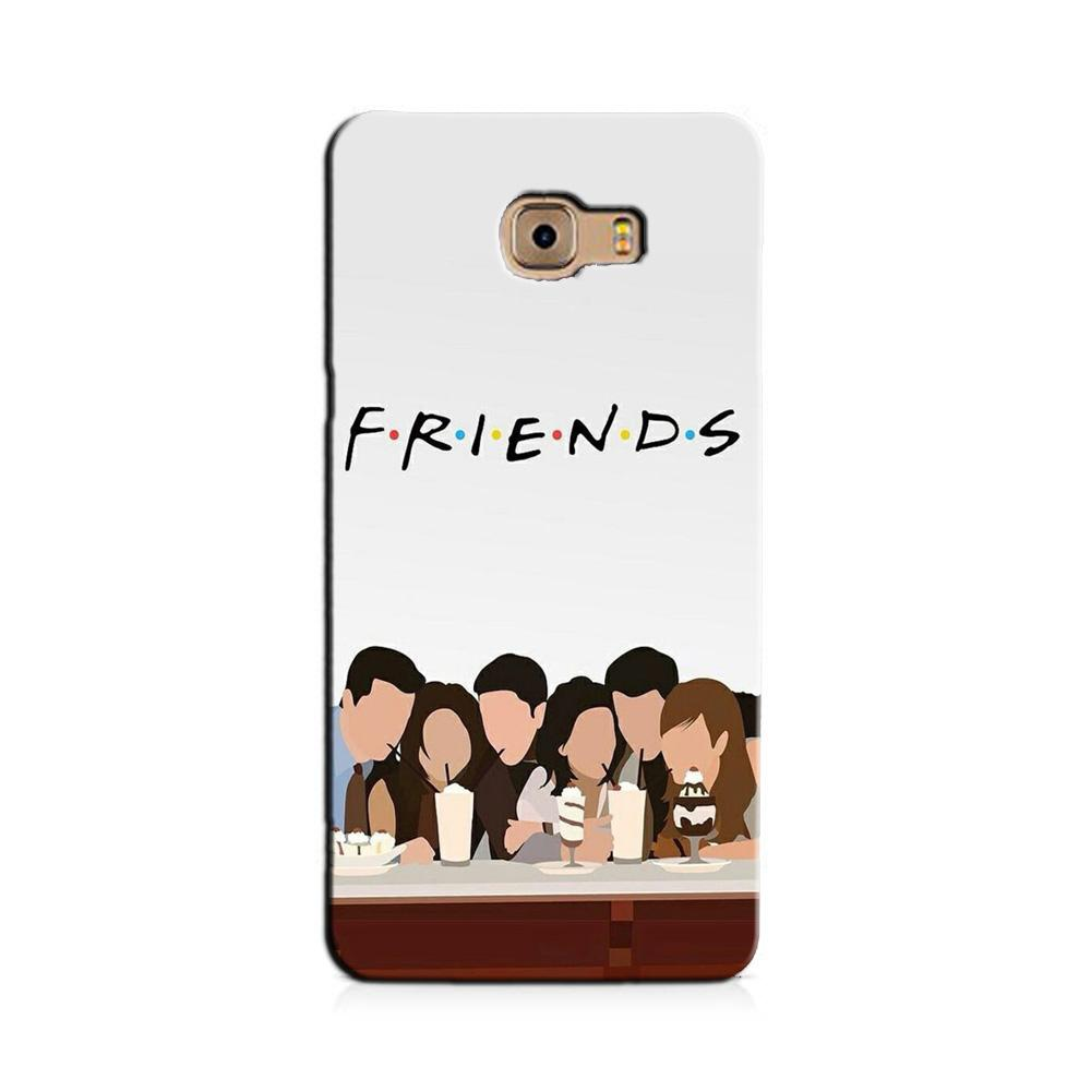 Friends Case for Galaxy J7 Prime (Design - 200)