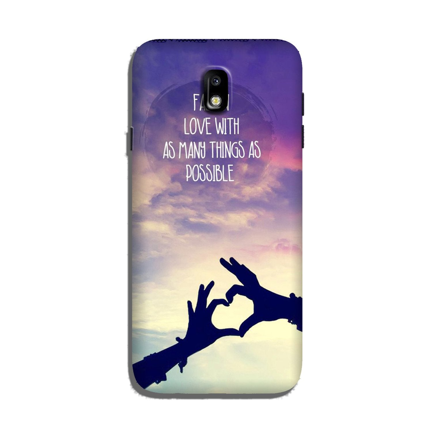 Fall in love Case for Galaxy J7 Pro