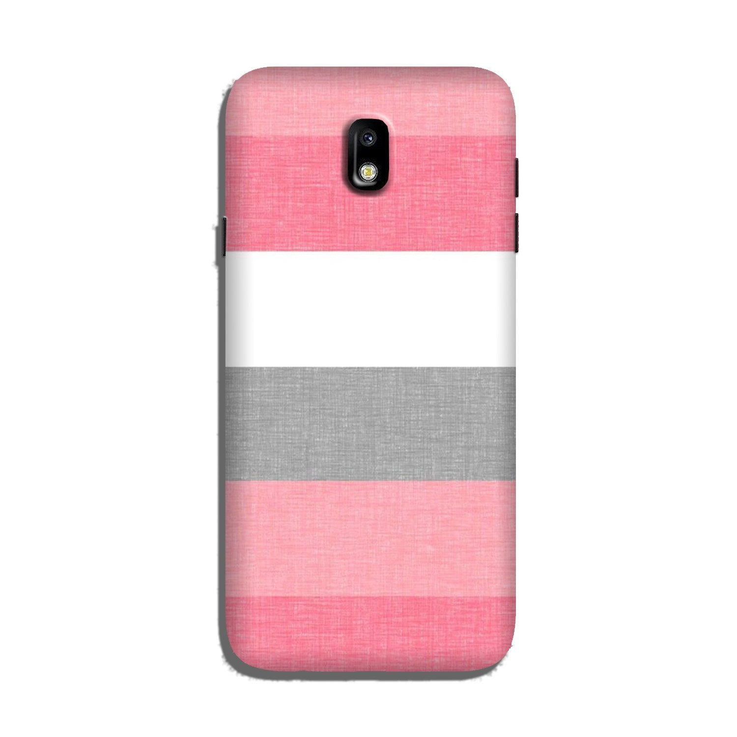 Pink white pattern Case for Galaxy J3 Pro