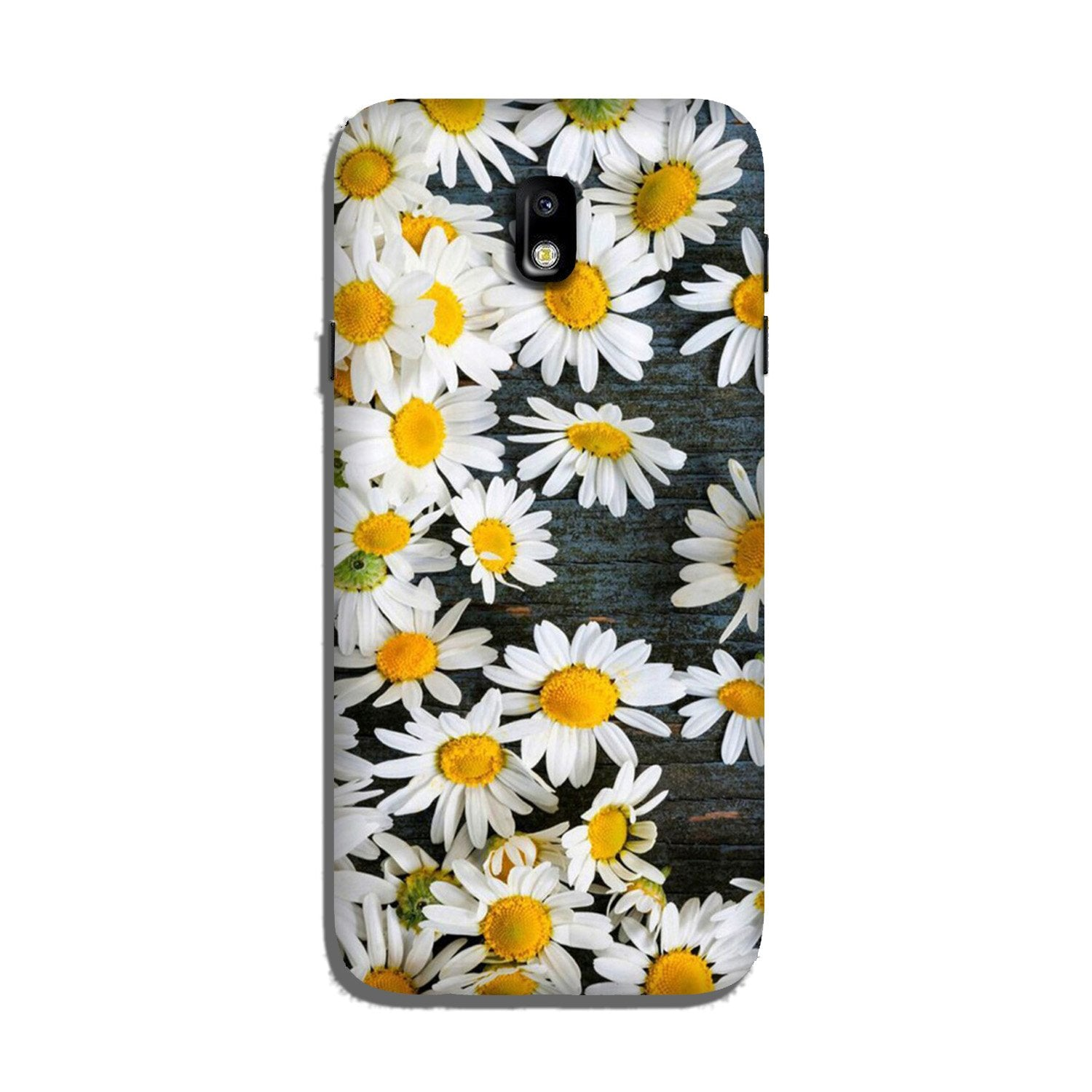 White flowers2 Case for Galaxy J5 Pro