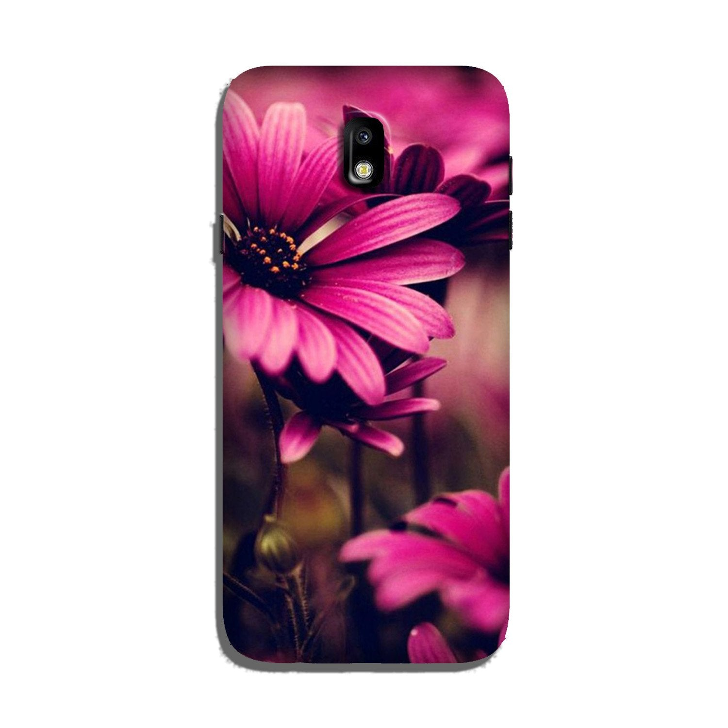 Purple Daisy Case for Galaxy J5 Pro
