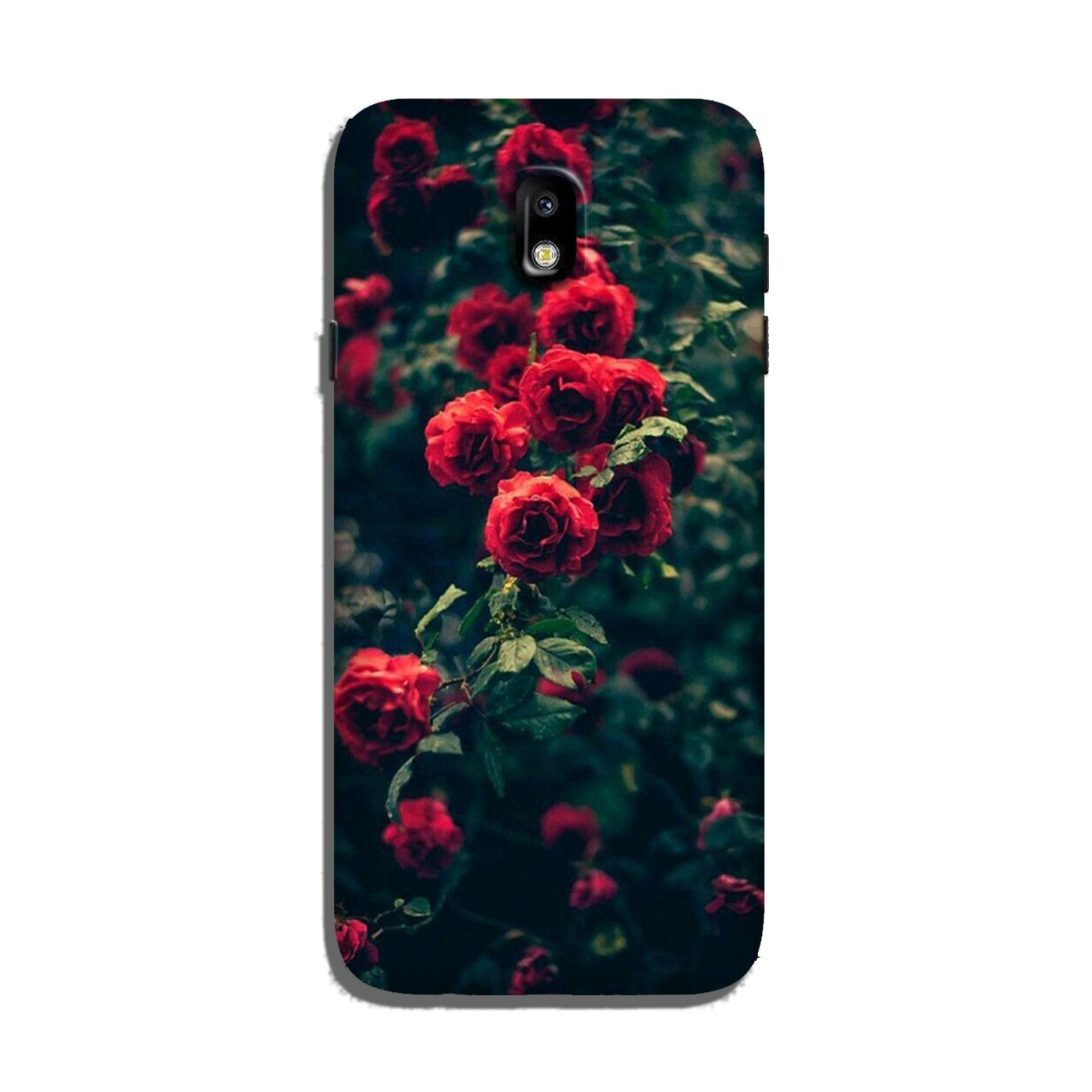 Red Rose Case for Galaxy J3 Pro