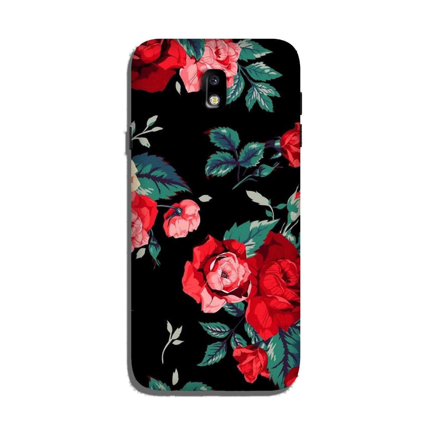 Red Rose2 Case for Galaxy J3 Pro