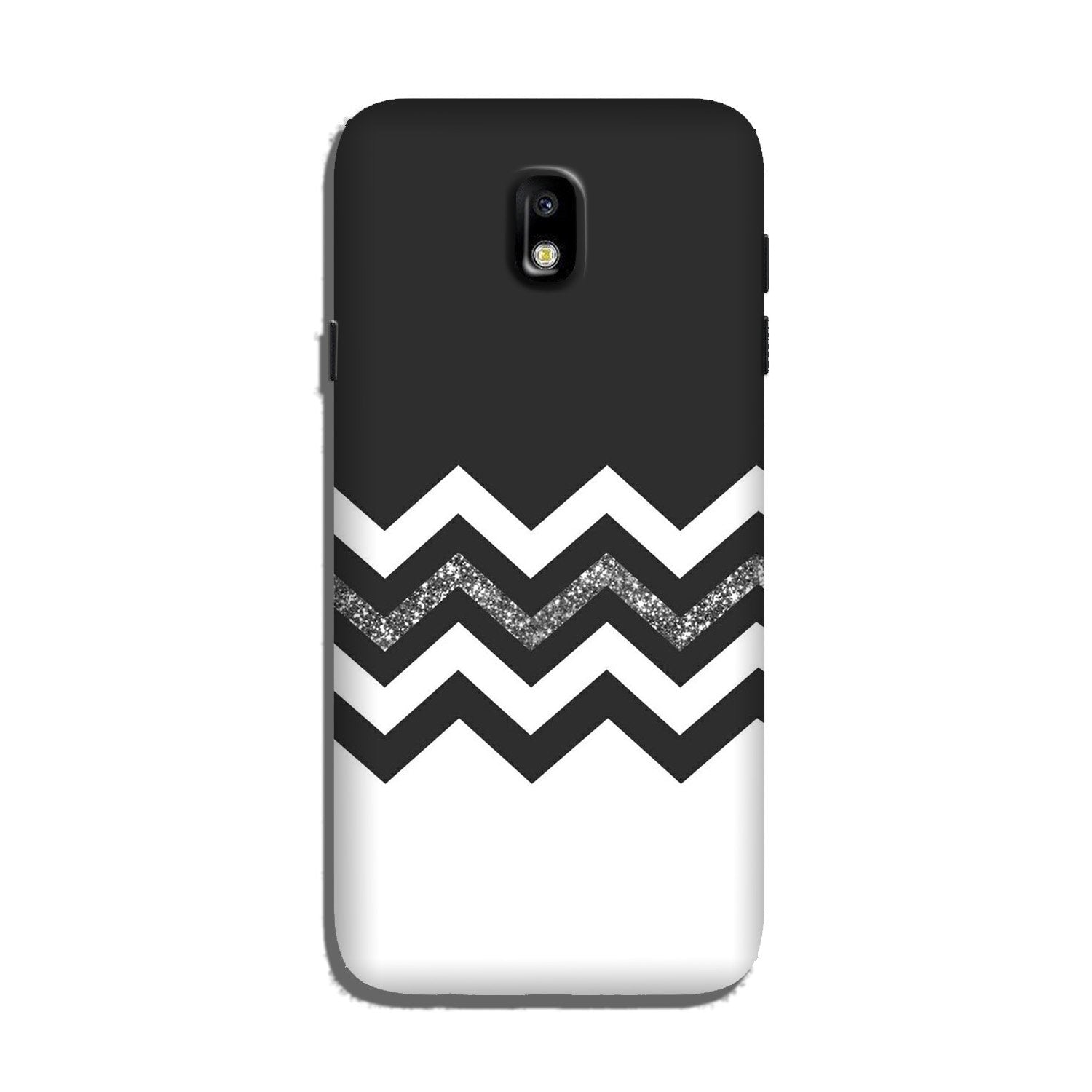 Black white Pattern2Case for Galaxy J7 Pro