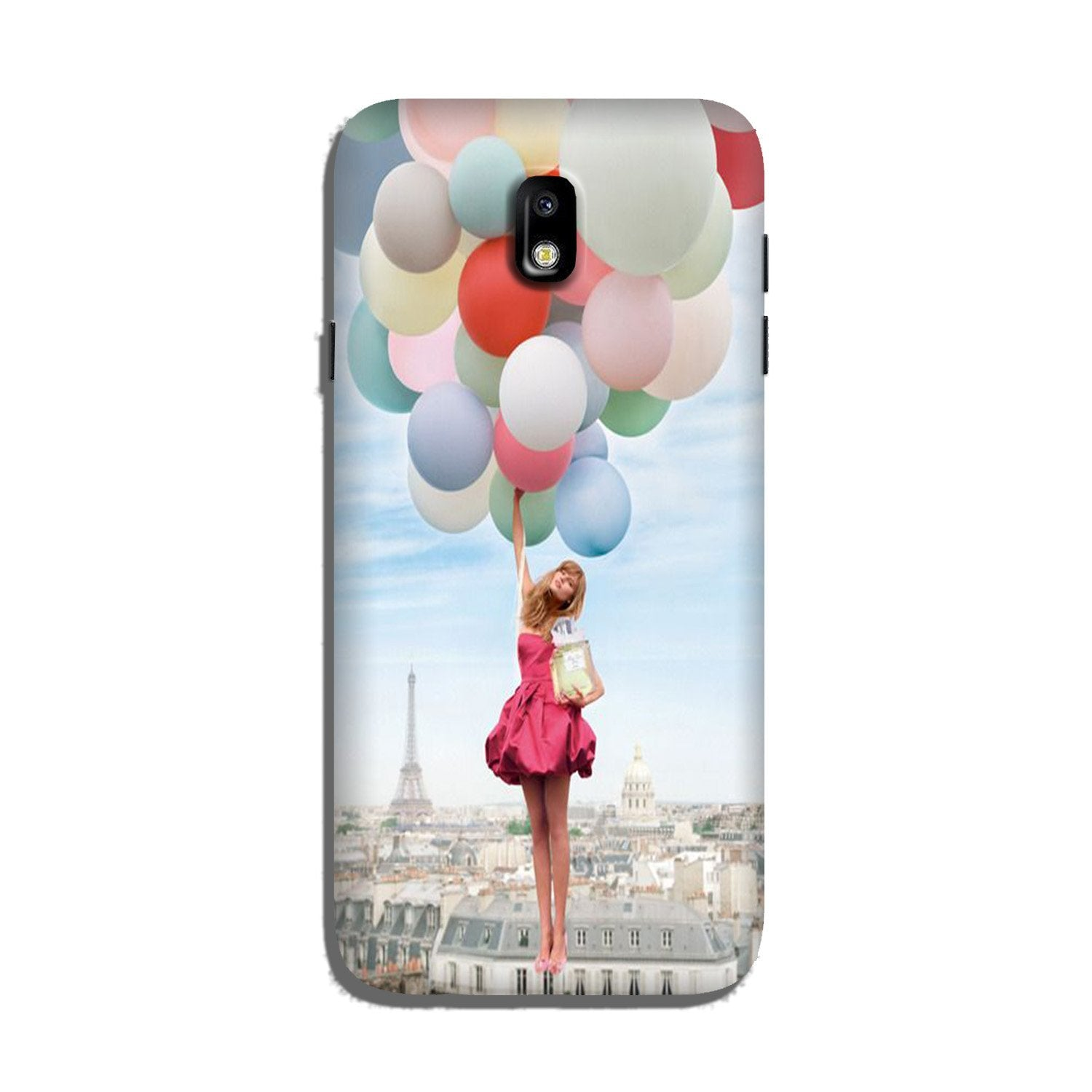 Girl with Baloon Case for Galaxy J5 Pro