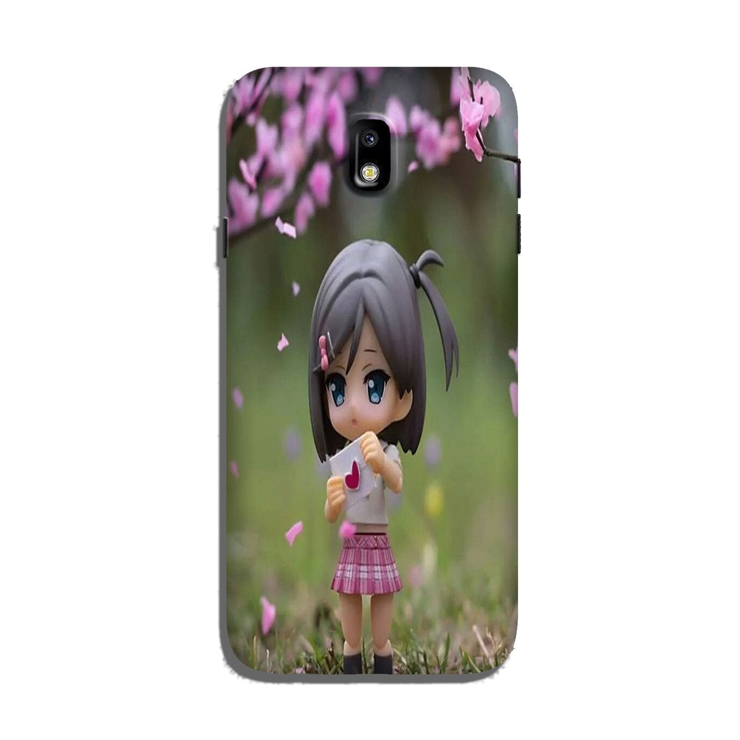 Cute Girl Case for Galaxy J7 Pro