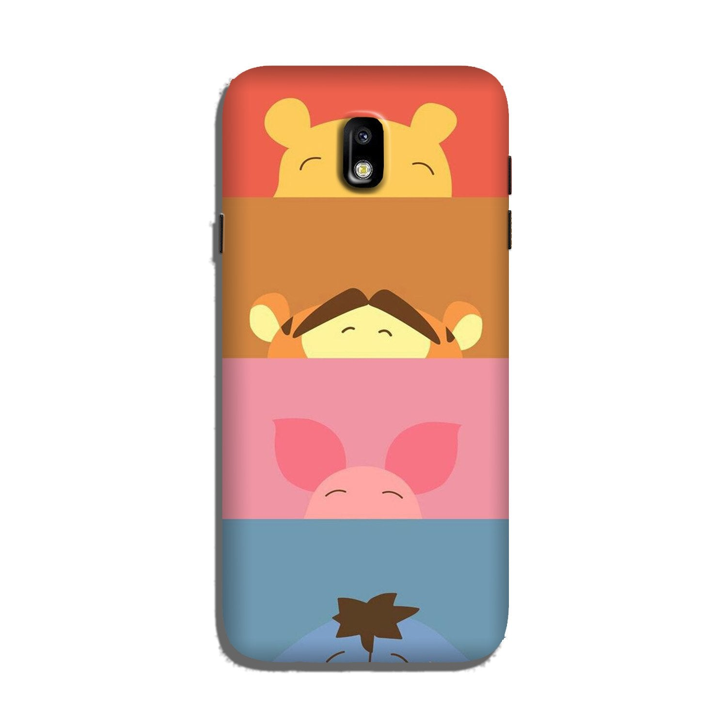 Cartoon Case for Galaxy J7 Pro (Design - 183)
