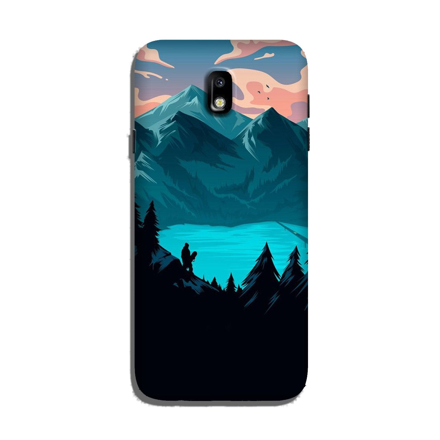 Mountains Case for Galaxy J7 Pro (Design - 186)