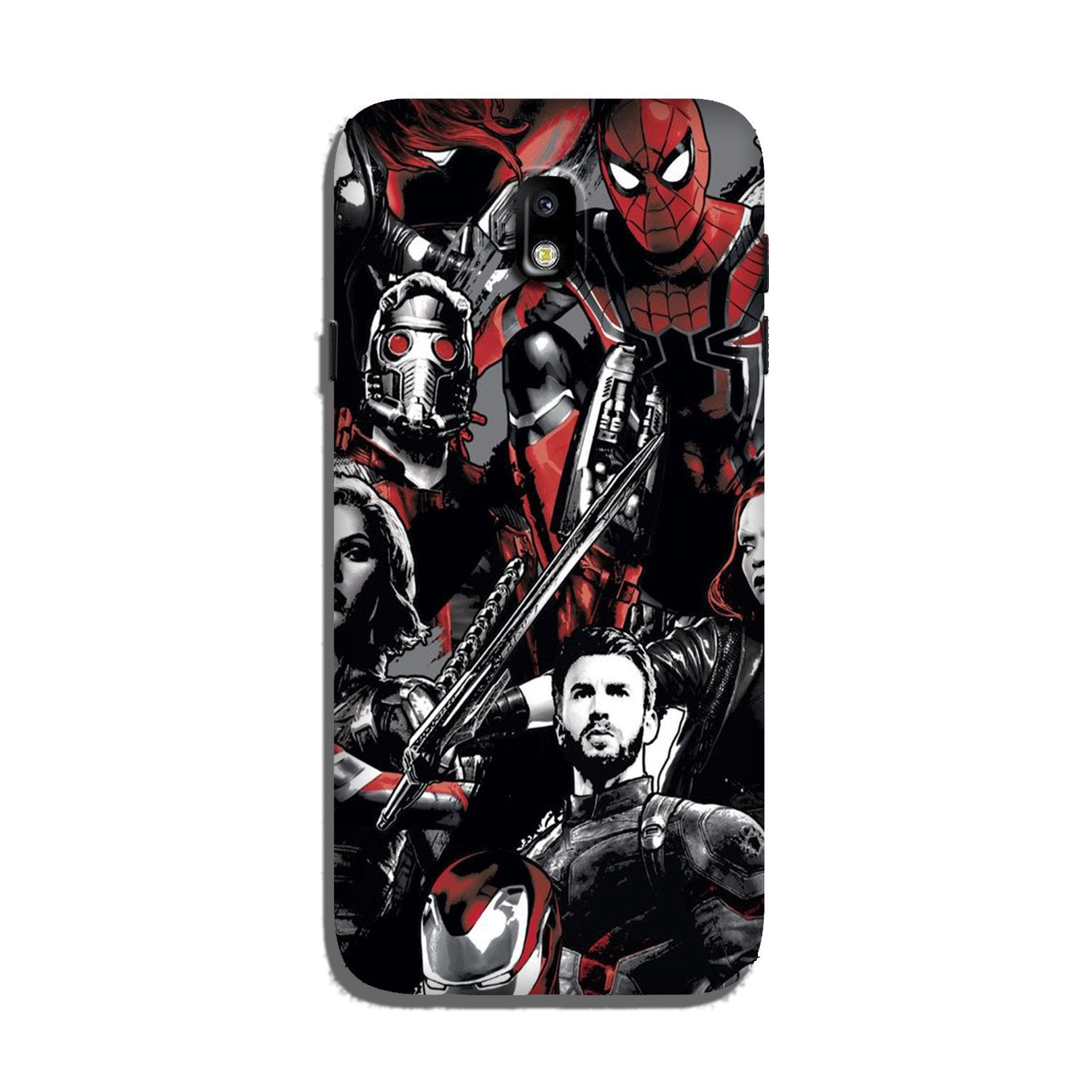 Avengers Case for Galaxy J7 Pro (Design - 190)