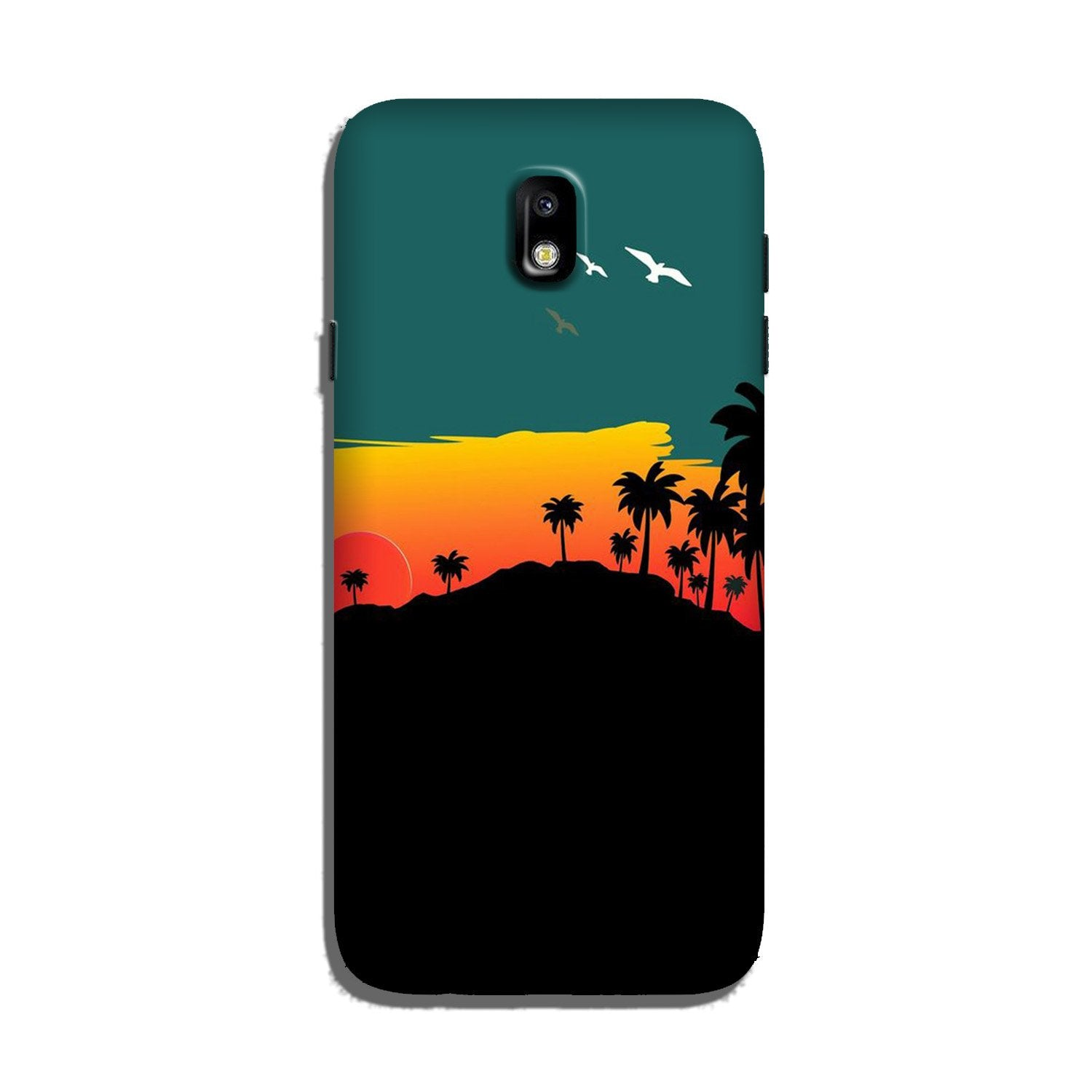 Sky Trees Case for Galaxy J7 Pro (Design - 191)