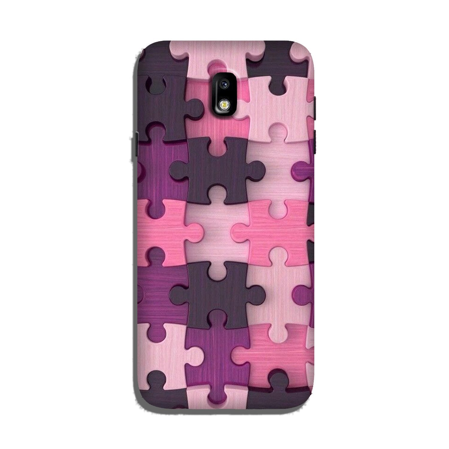 Puzzle Case for Galaxy J7 Pro (Design - 199)