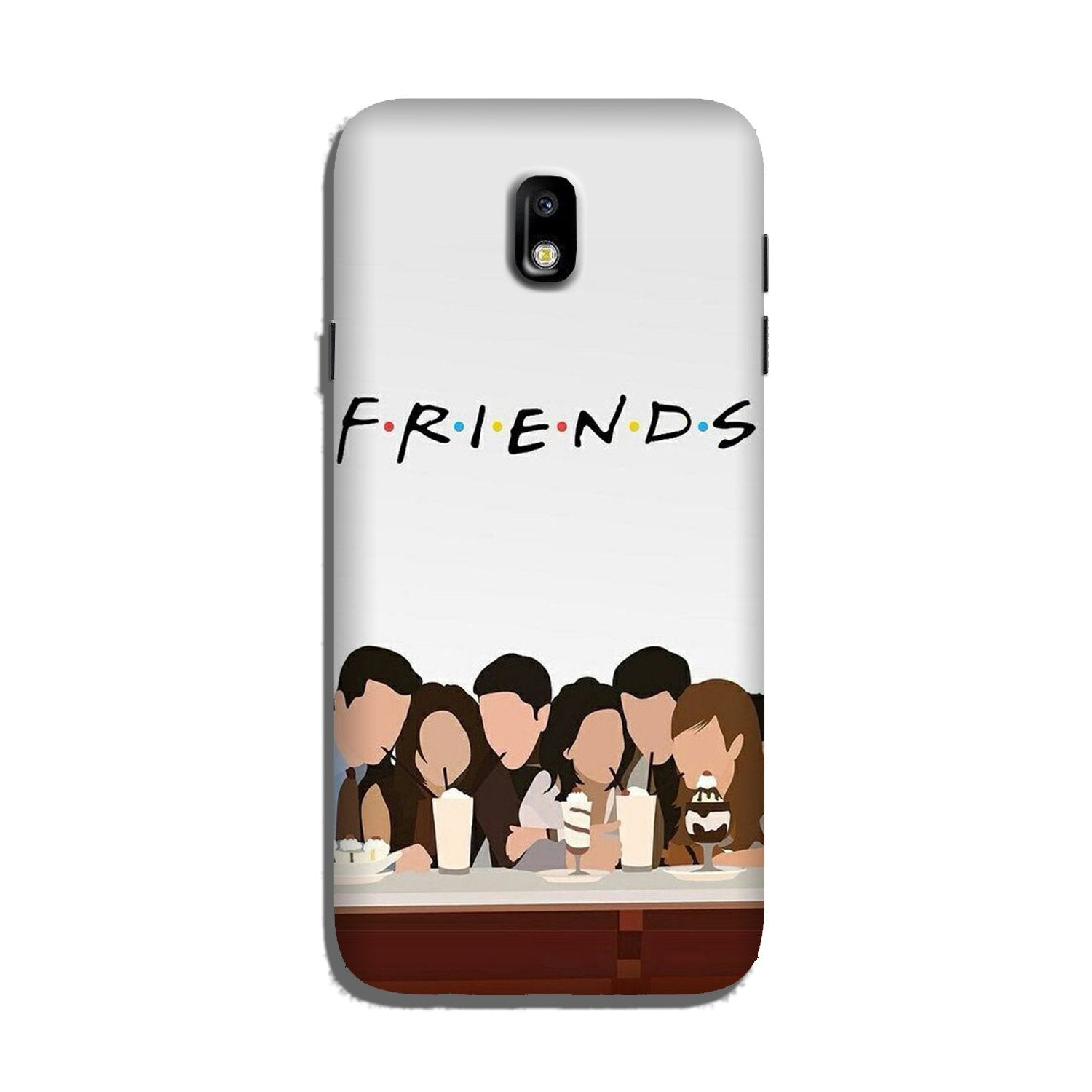 Friends Case for Galaxy J7 Pro (Design - 200)