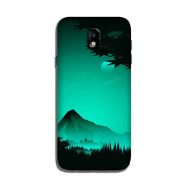 Moon Mountain Case for Galaxy J7 Pro (Design - 204)