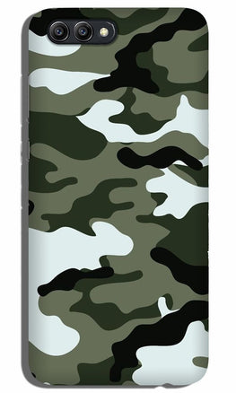 Army Camouflage Case for Oppo K1  (Design - 108)