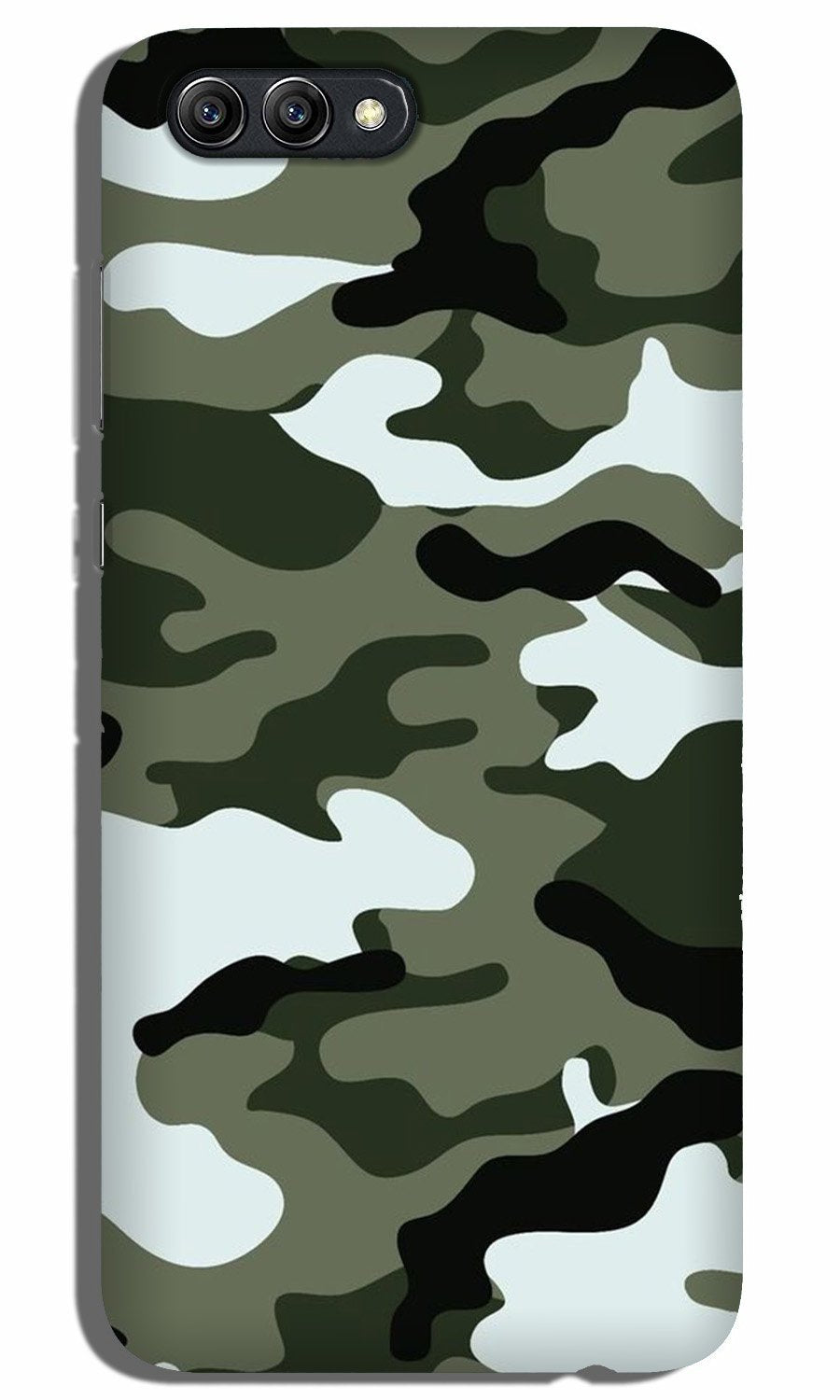 Army Camouflage Case for Oppo A3s  (Design - 108)