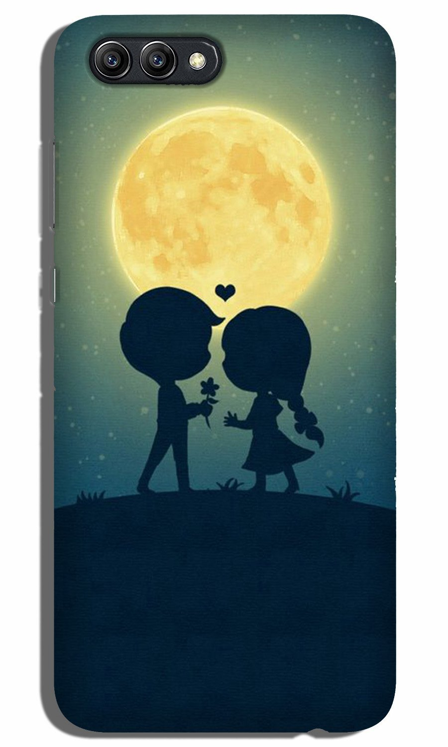 Love Couple Case for Oppo A3s  (Design - 109)
