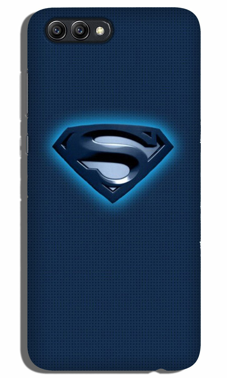 Superman Superhero Case for Oppo A3s  (Design - 117)