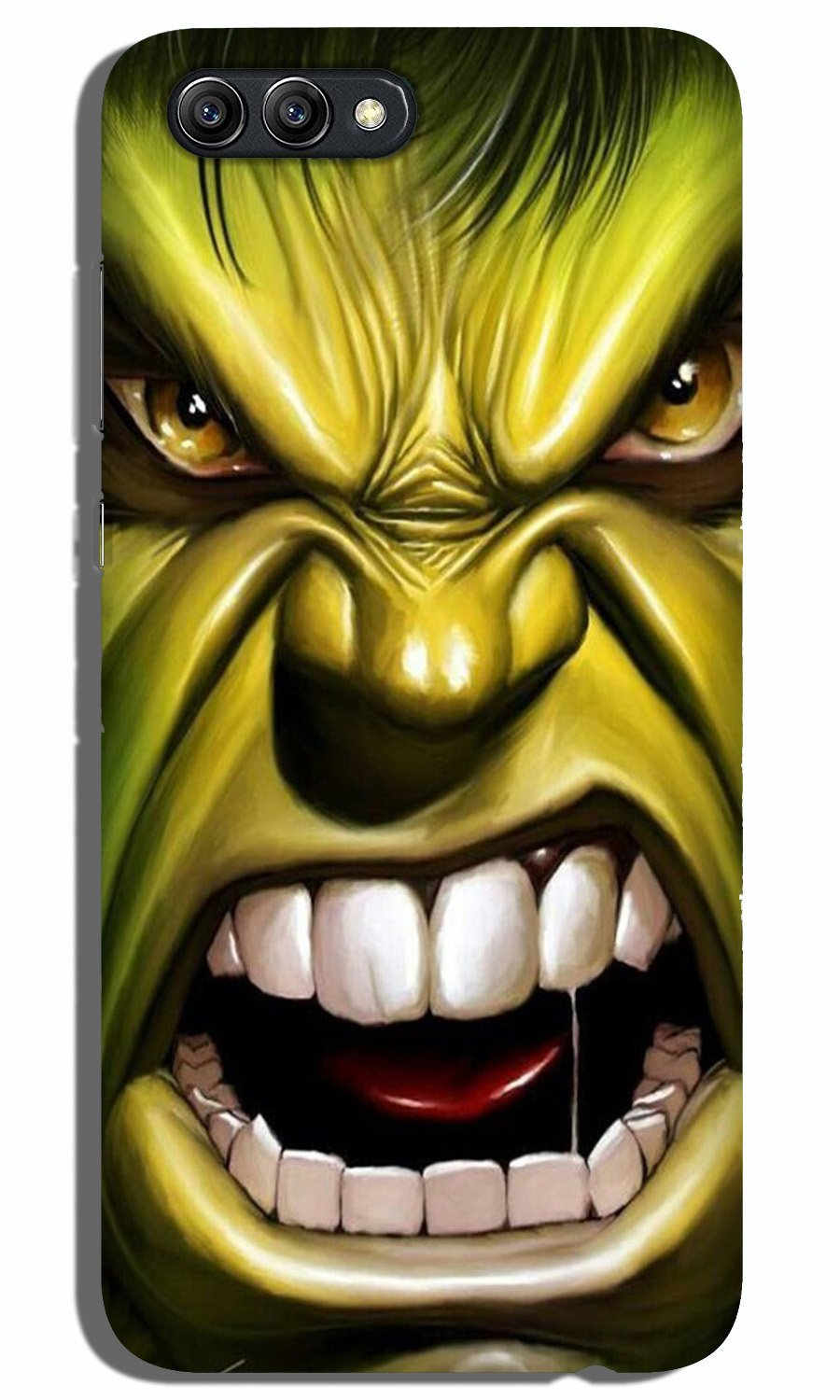Hulk Superhero Case for Oppo A3s  (Design - 121)