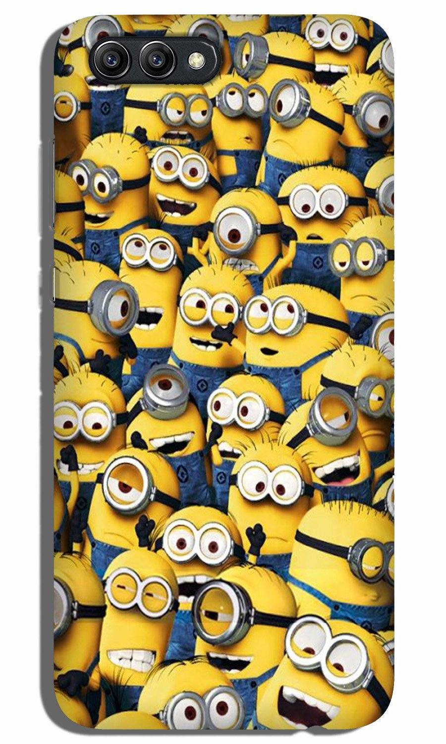 Minions Case for Oppo A3s  (Design - 126)