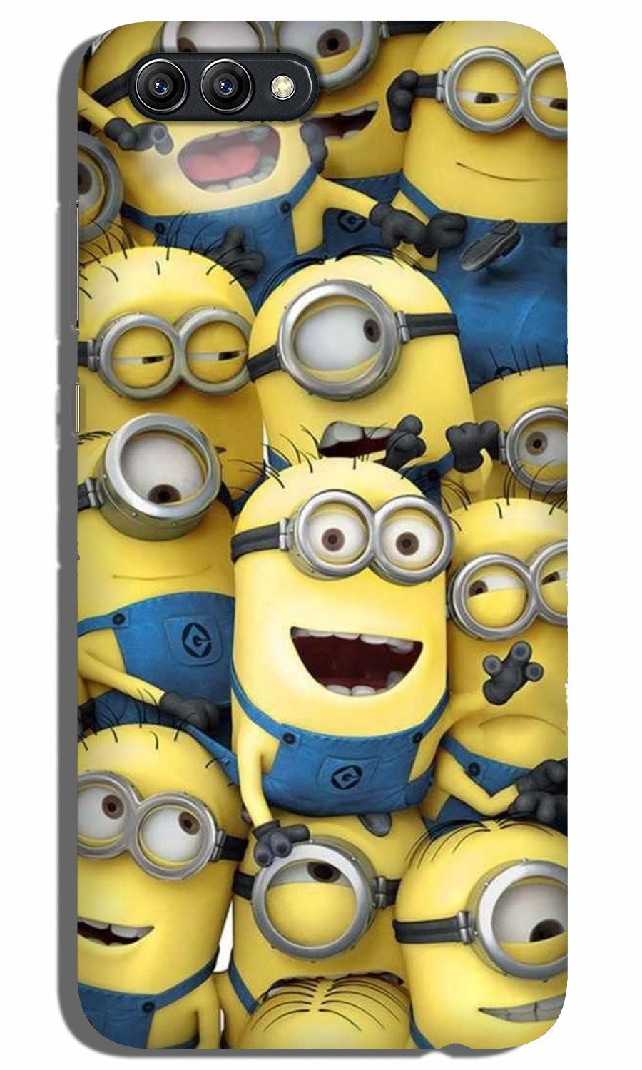 Minions Case for Oppo A3s  (Design - 127)