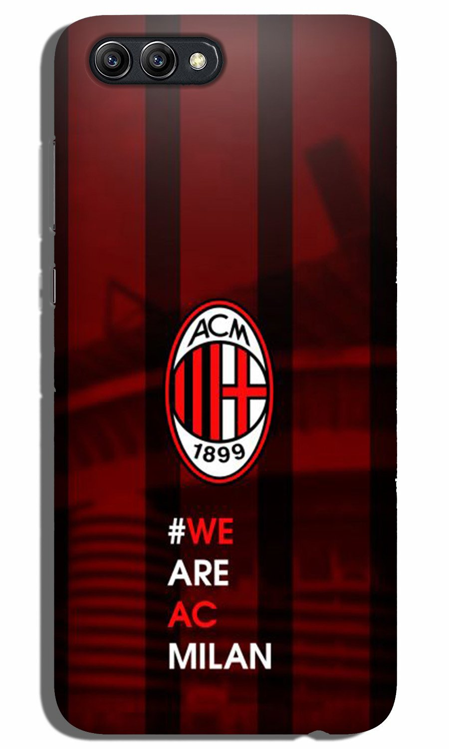 AC Milan Case for Oppo K1  (Design - 155)
